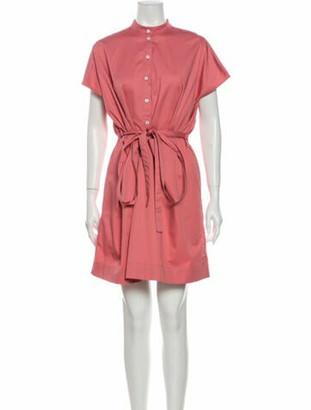 Co Mock Neck Mini Dress Pink