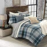 UGG Monterey Plaid Chambray Reversible King Comforter Set in Blue