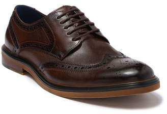 English Laundry Nate Leather Wingtip Derby