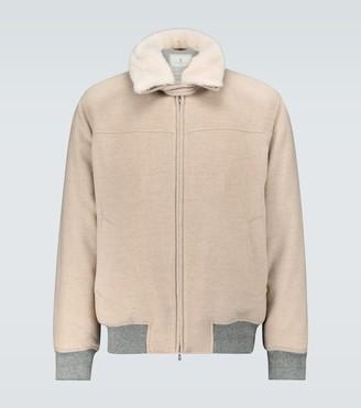 Brunello Cucinelli Cashmere aviator jacket