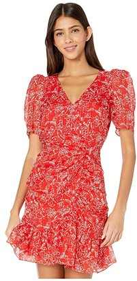 Parker Krislyn Dress (Red Aurora) Women's Clothing