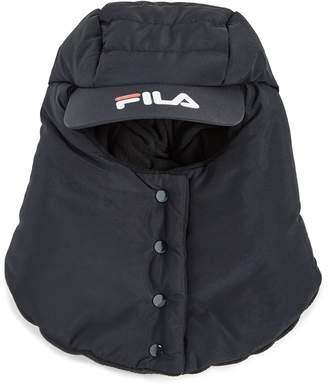 Fila Quilted Puffer Balaclava With Micro Fleece Lining