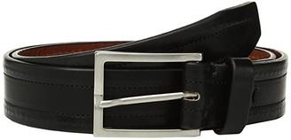 Trafalgar Wesley Belt 35mm (Black) Men's Belts