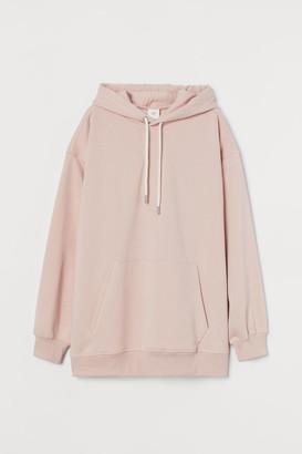 H&M Cotton-blend Hoodie - Pink