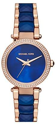 Michael Kors Womens Quartz Watch with Stainless Steel Strap MK6527
