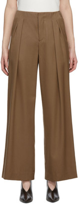 Julia Jentzsch Brown Wool Xander Trousers