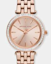 Michael Kors Mini Darci Rose Gold-Tone Analogue Watch