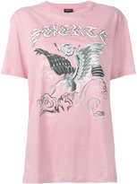 Marcelo Burlon County of Milan eagle print T-shirt - women - Cotton - XS