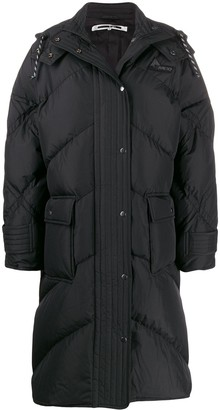 McQ Padded Hooded Coat
