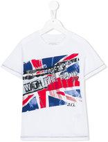 John Galliano flag print T-shirt