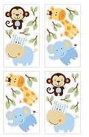 NoJo Jungle Play Wall Decals