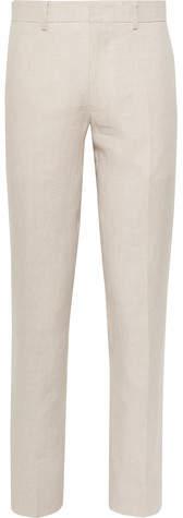 Club Monaco Grant Slim-Fit Linen Suit Trousers