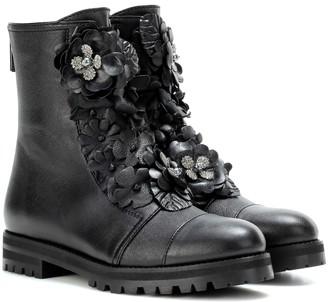 Jimmy Choo Havana Flat leather boots