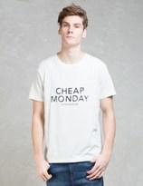 Cheap Monday Cm Double Standard S/S T-shirt