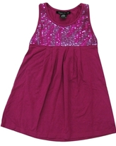 **SALE**Flowers By Zoe - Kid's Megenta F3D5 Tank Dress