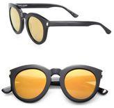 Saint Laurent Surf 47MM Round Sunglasses