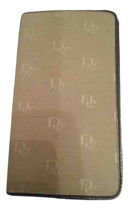 Christian Dior Beige Cloth Home decor