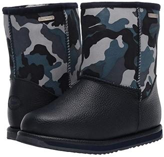 Emu Commando Trigg (Toddler/Little Kid/Big Kid) (Blue Camo) Kids Shoes