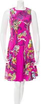 Etro Printed Knee-Length Dress w/ Tags