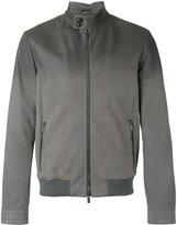 Tod's bomber jacket - men - Leather/Viscose/Polyester - M