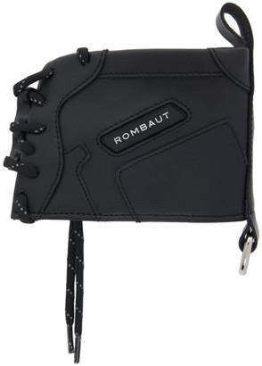 Rombaut Black Faux-Leather Boccaccio Sneaker Wallet