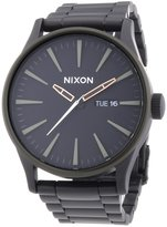 Nixon Men's Sentry Ss A3561530 Stainless-Steel Quartz Watch