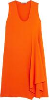 Stella McCartney Nadine asymmetric stretch-crepe dress