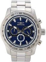 Invicta 21795 Silver-Tone & Blue Watch