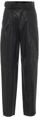 STOULS Murray high-rise leather pants