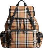 Burberry The Large Rucksack in Vintage Check