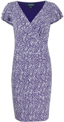 Polo Ralph Lauren floral-print V-neck dress