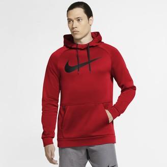 Nike Men's Pullover Swoosh Training Hoodie Therma