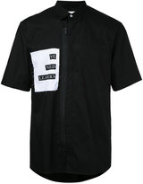 Public School front zipper shirt - men - Cotton - M