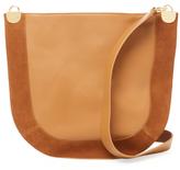 Diane von Furstenberg Large Leather & Suede Crossbody