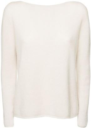 Agnona Cashmere & Linen Jersey Sweater