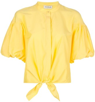 Nicholas Tied Front Shirt