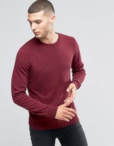 Sisley Crew Neck Sweater in Cashmere Blend