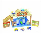 ToysLand Great Gizmos Wooden Parking Garage Playset