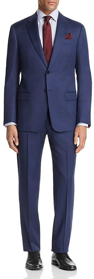 Emporio Armani Subtle Solid Check Regular Fit Suit