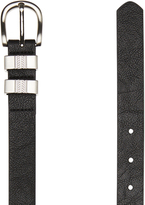 Rusty Looking Glass Belt Black