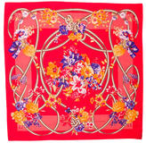 Valentino Silk Floral Printed Scarf