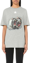 Givenchy Monkey-print cotton-jersey t-shirt