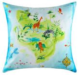 Kas Tropical Island Square Cushion