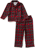 Little Me Baby Boys 12-24 Months Christmas Plaid Pajama Set