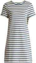 A.P.C. Beckie striped cotton-jersey dress