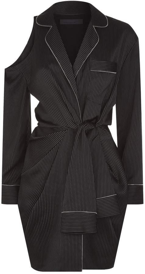 Alexander Wang Pinstripe Mini Dress