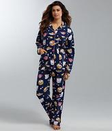 PJ Salvage Take Out Flannel Pajama Set
