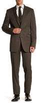 Kenneth Cole New York Subtle Dot Two Button Notch Lapel Suit