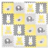 Tadpoles Teddy and Friends 16 Piece Floor Mat