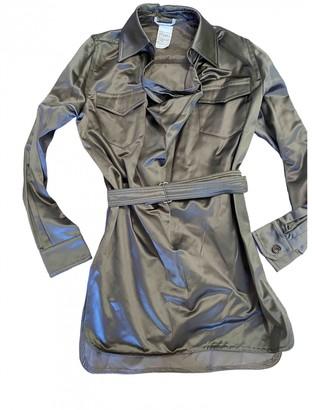Max Mara Silver Cotton - elasthane Dresses